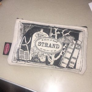 Authentic The Strand bookstore pencil pouch